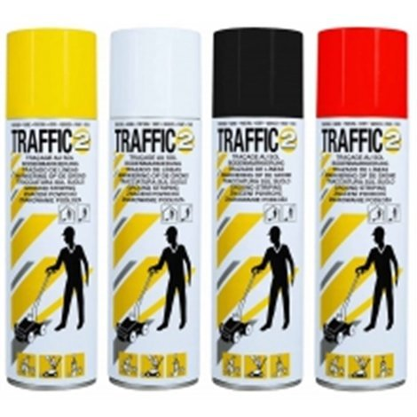 Peinture Sol Traffic Rouge Perma