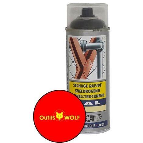 Peinture spéciale motoculture couleur ROUGE WOLF - Aérosol 400ml