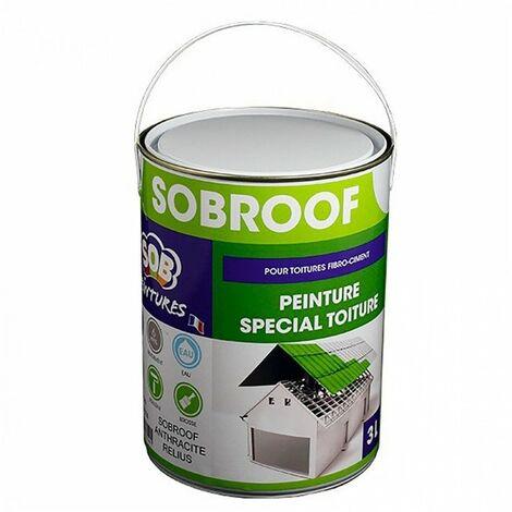 Peinture spéciale toiture 3L SOBROOF - plusieurs modèles disponibles