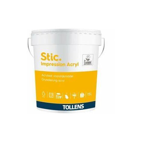 Peinture Stic impression acrylique 15L - Tollens
