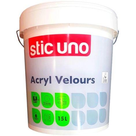 Peinture STIC UNO Acryl Velours 15L | 15 Litres