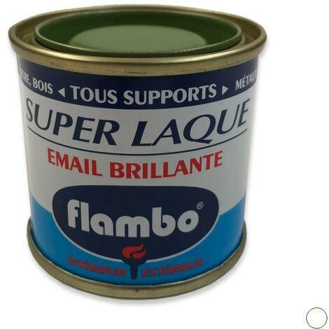 """main image of """"Peinture Super Laque Brillante FLAMBO, 50 ml BLANC"""""""