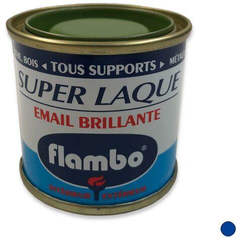 "main image of ""Peinture Super Laque Brillante FLAMBO, 50 ml BLEU DRAPEAU"""