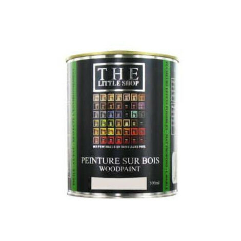 Peinture sur bois Little Shop Of Colors Gris Augustin 500ml