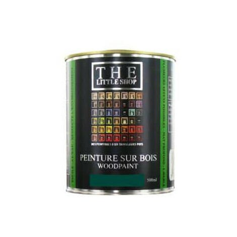Peinture sur bois Little Shop Of Colors Vert 20000 Leagues 500ml