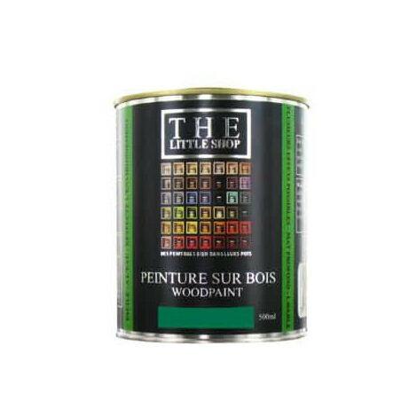 Peinture sur bois Little Shop Of Colors Vert Green Wonder 500ml