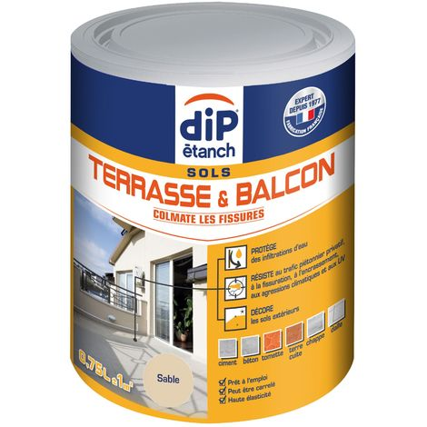 Peinture Terrasse & Balcon anti-infiltrations 0,75L Sable
