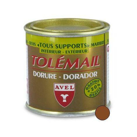 "main image of ""Peinture TOLEMAIL Dorure, 50 ml VIEIL OR"""