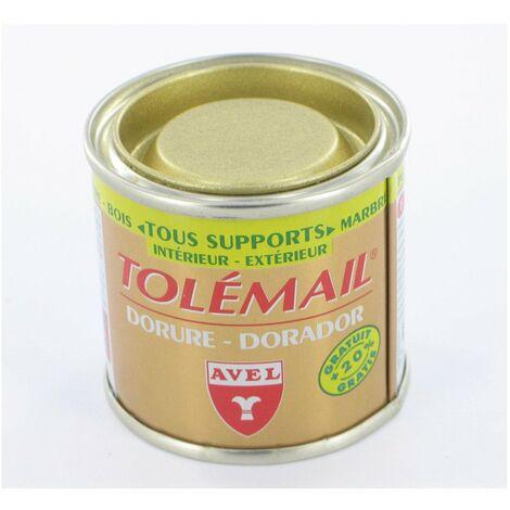 Peinture Tolémail dorure Avel Louis XIII
