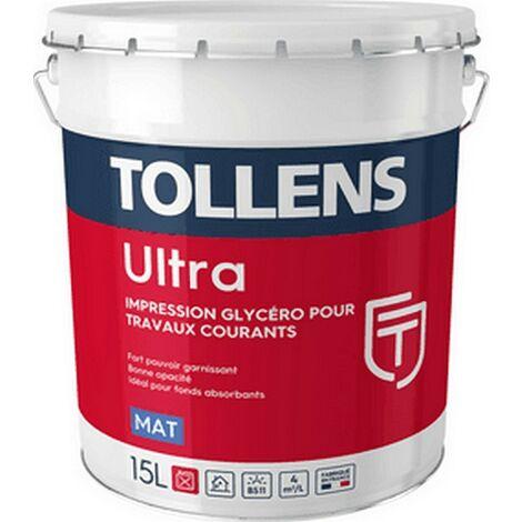 Peinture TOLLENS professionnelle Ultra Mat & Impression