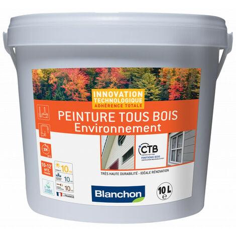 Peinture tous bois environnement blanc 10L