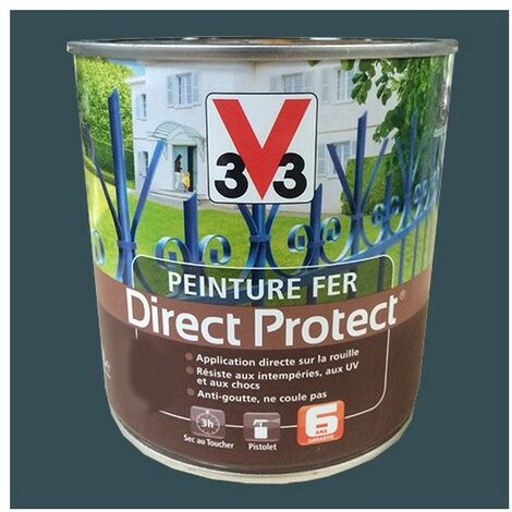 Peinture V33 Fer Direct Protect Tungstène Poudré 1,5 L - Tungstène Poudré