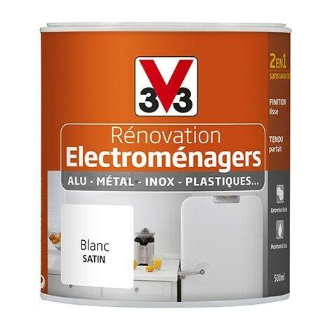 """main image of """"Peinture V33 Rénovation Electroménagers 0,5L Blanc 0,5 L - Blanc"""""""