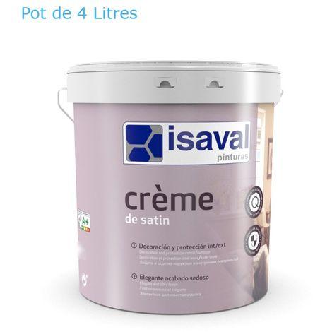 Peinture Velours 4 Litres RAL 9010 Blanc Pur - Isaval