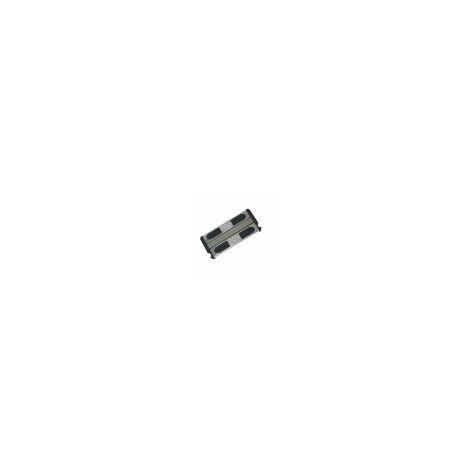 Peldaño doble de seguridad antideslizante de acero inoxidable A316. Incluye tornillos. Para escalera de piscina de ancho 50 cm