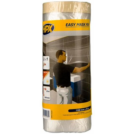 Película EASY MASK papel crepé, 2700mm x 16m
