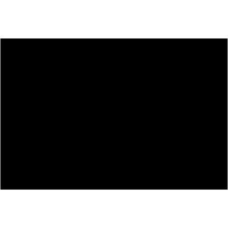 Película Negra Rectangular De Polietileno Flotante De Piscina