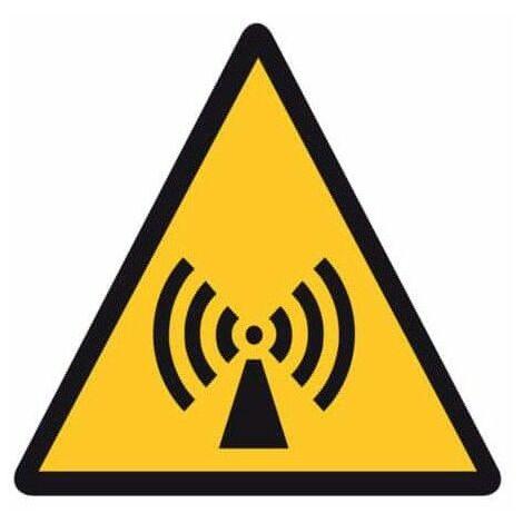 peligro UV adhesivo de polímero plastificado radiación no ionizante