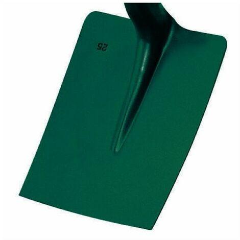 Pelle carrée tôle 25 cm sans manche