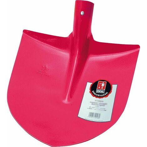 Pelle de terrassier Ideal Ruhr-Brilliant, taille 5, rouge sans manche