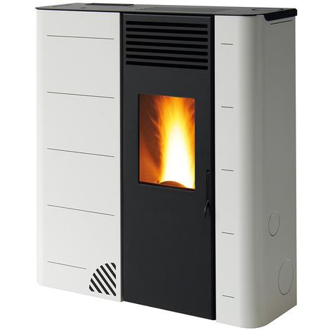 "main image of ""Pelletofen \""GS 90\"", 9 kW, Slim 26 cm - Farbe schwarz"""