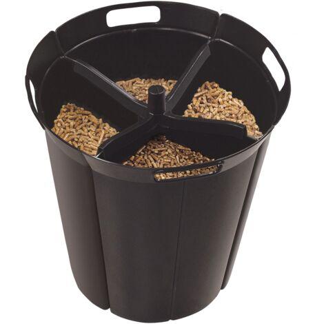 Pellet'Quadra - votre rÈserve ‡ granulÈs design 15kg