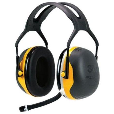 Peltor 3M casque antibruit communiquant X2 bluetooth - Jaune