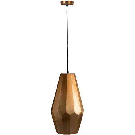 Pendant and ceiling light,aluminium,copper finish