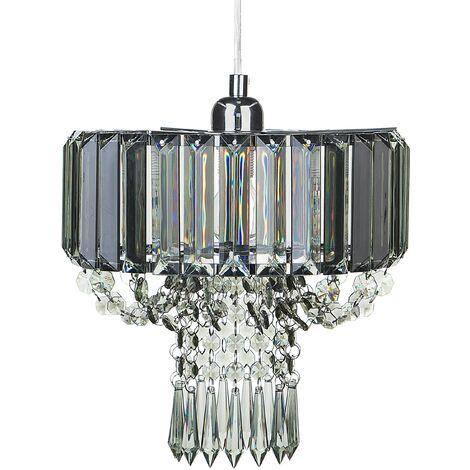 Pendant Ceiling Lamp Light Grey ADORN