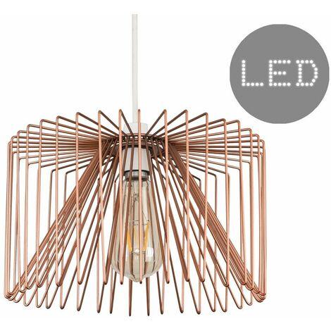 Pendant Ceiling Light Shade Non Electric Wire Copper