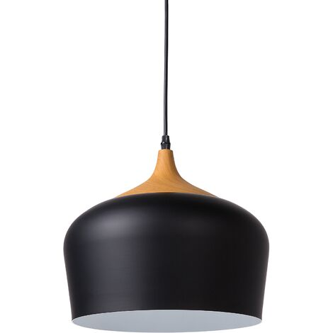 Pendant Lamp Black ANGARA