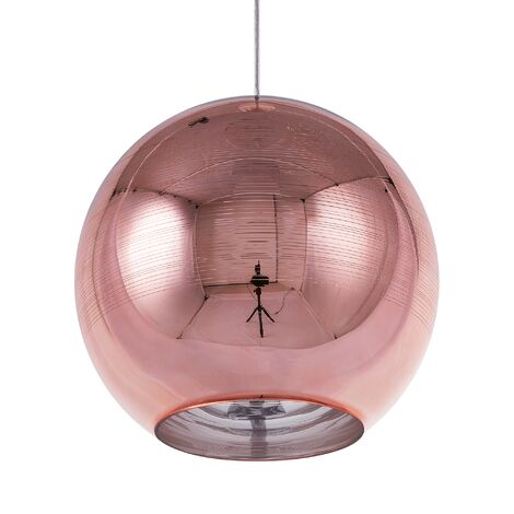 Glass Pendant Lamp Copper ASARO