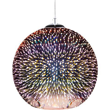 Pendant Lamp Glass Copper SESSERA