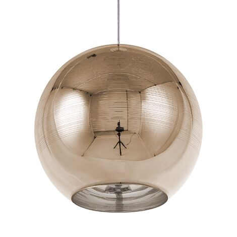 Glass Pendant Lamp Gold ASARO