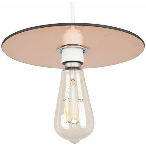 Pendant Lamp Shades Industrial Lighting Circular Shade Amber Smoked Glass