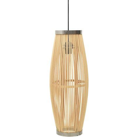 Pendant Lamp Willow 27x68 cm 40 W Oval E27 - Brown