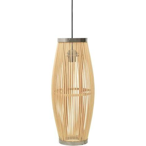Pendant Lamp Willow 40 W 23x55 cm Oval E27 - Brown