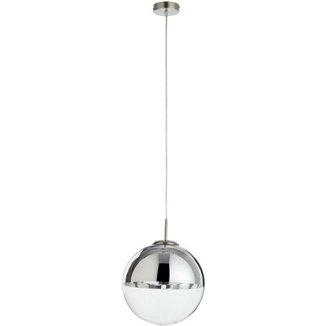 Pendant light Ravena with a glass sphere, one-bulb