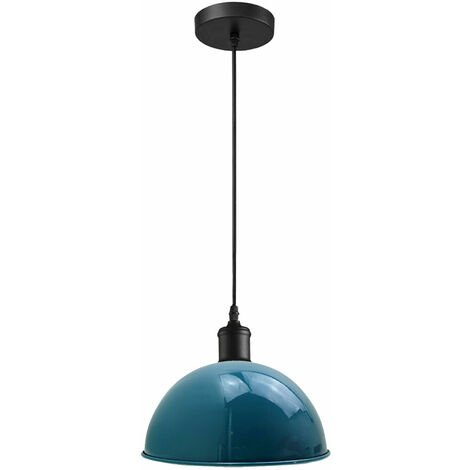 """main image of """"Pendant Shades Suspended Ceiling Light Fitting Retro Lighting Domed Metal"""""""