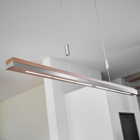 Pendelleuchte Aus Holz Dimmbar Für Wohnzimmer U0026 Esszimmer Von Lampenwelt