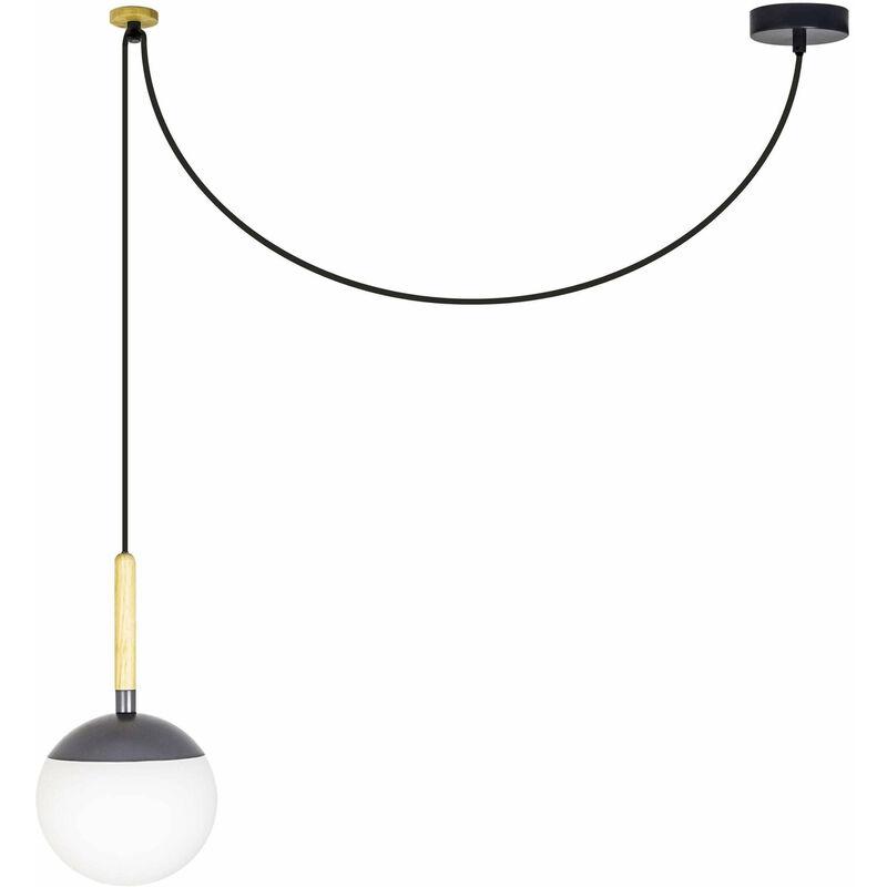 08-faro - Meine H35 graue Pendelleuchte 1 Glühbirne