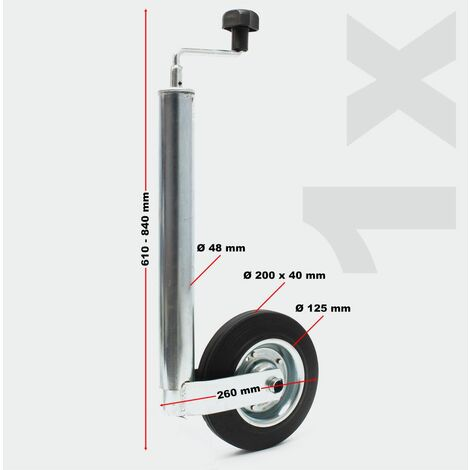 Pendentif Set 10 pcs. Support support de serrage de roue supports Cales 150 kg