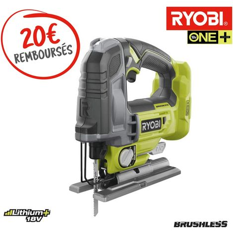 Pendulum Jigsaw RYOBI 18V OnePlus Brushless - 135 mm - Without battery and charger - R18JS7-0