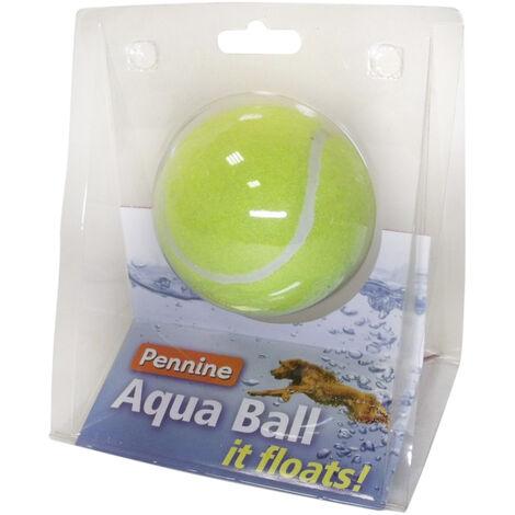 "main image of ""Pennine Aqua Ball Dog Toy (One Size) (Yellow)"""