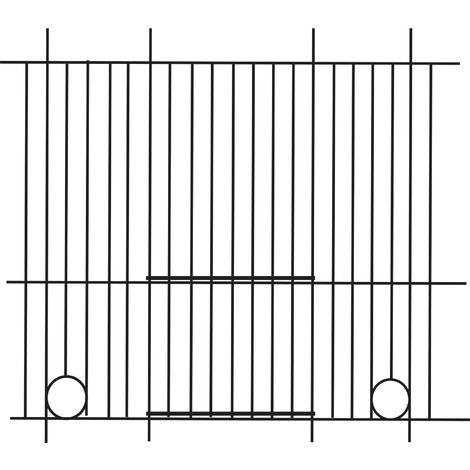 Pennine Canary Bird Cage Front (60cm X 30cm) (One Size) (Black)