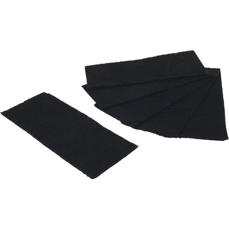 Pennine Cat Loo Filters (Pack Of 6) (One Size) (Black)