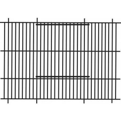 Pennine Finch Bird Cage Front (61cm X 30cm) (61x30cm) (Black)