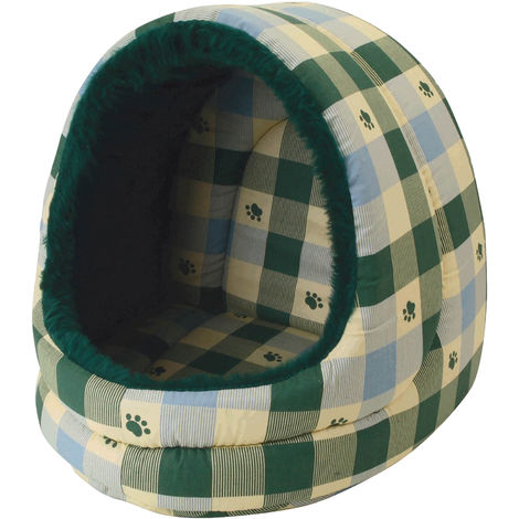 Pennine Large Hooded Pet Bed - ASRTD (One Size) (Assorted)
