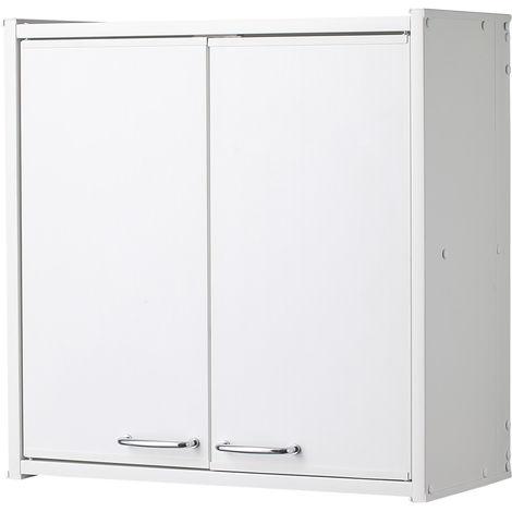 Armadi In Plastica Per Interni.Pensile In Pvc In Kit Per Interni Esterni Colore Bianco F760p