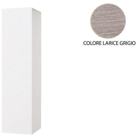 Pensile sospeso con anta in legno nobilitato Larice Grigio Cm ...